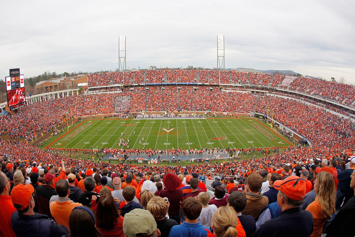 Virginia lands its 8th commitment for the 2013 class, Hipolito Corporan. (Photo by Geoff Burke/Getty Images)