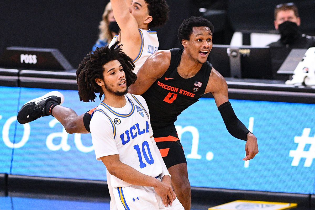 COLLEGE BASKETBALL: MAR 11 Pac-12 Tournament - Oregon State v UCLA
