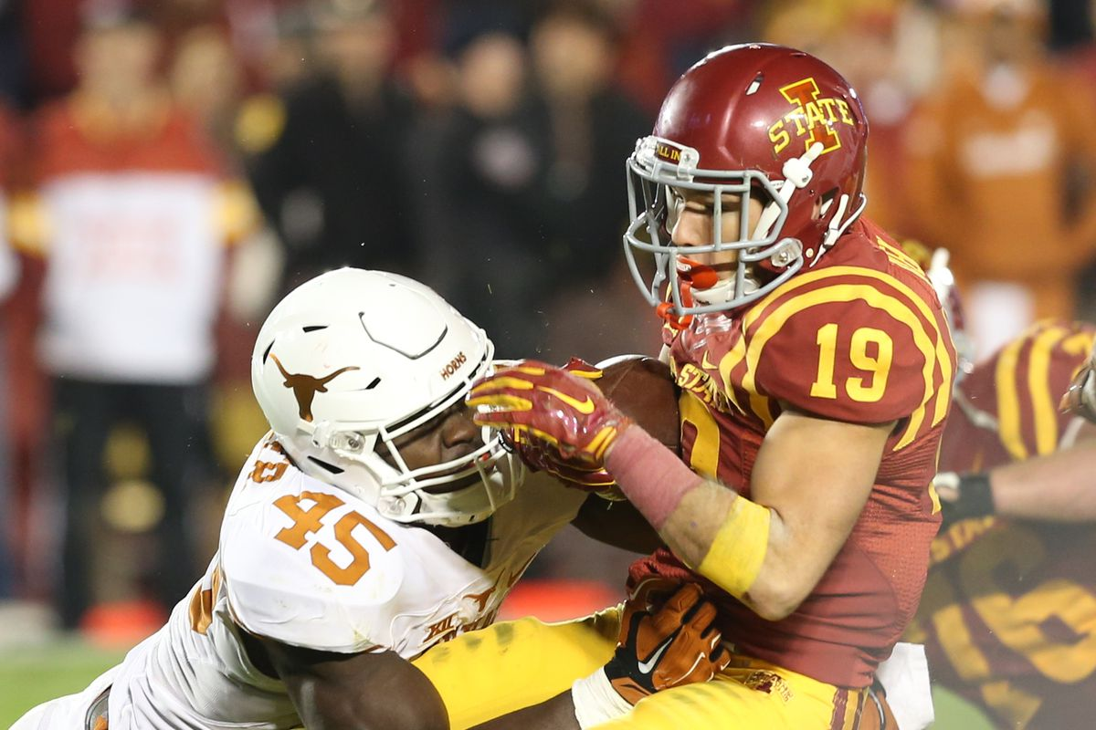 Texas Releases Depth Chart For Iowa State