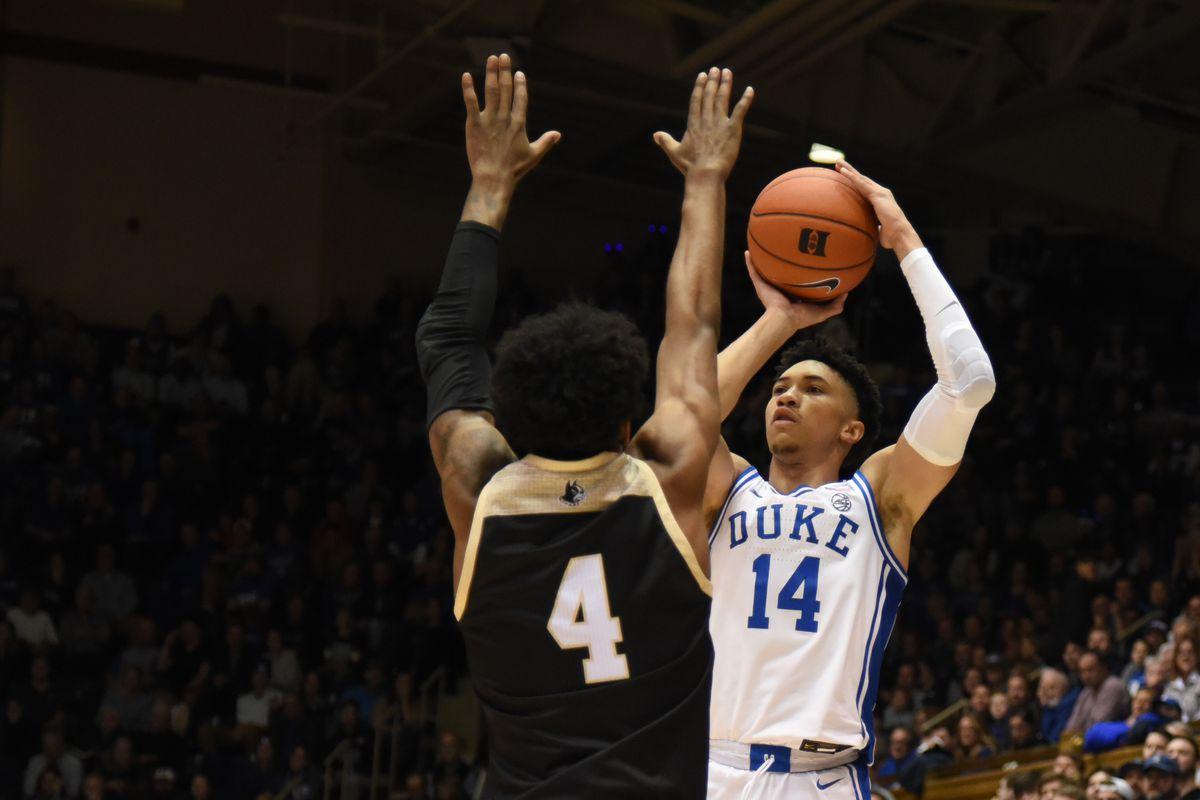 NCAA Basketball: Wofford at Duke