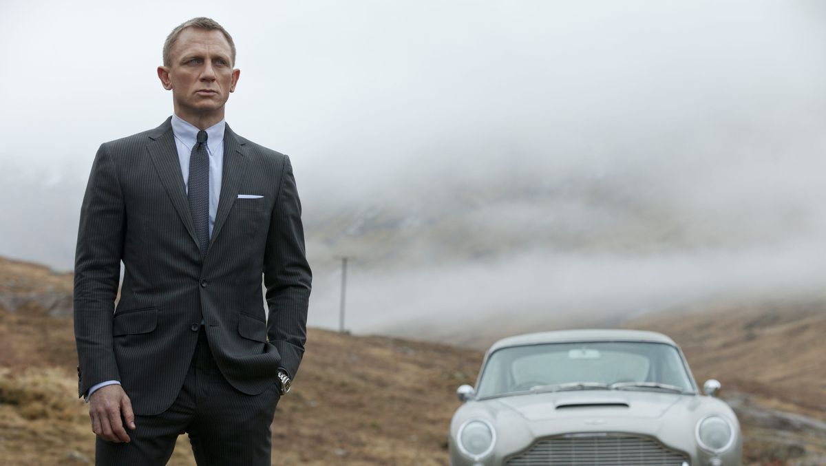 Daniel Craig as James Bond in Skyfall (2012)