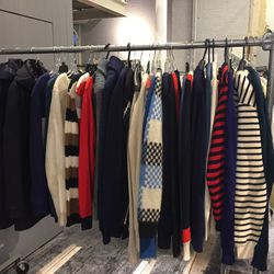 Men's jackets and sweaters