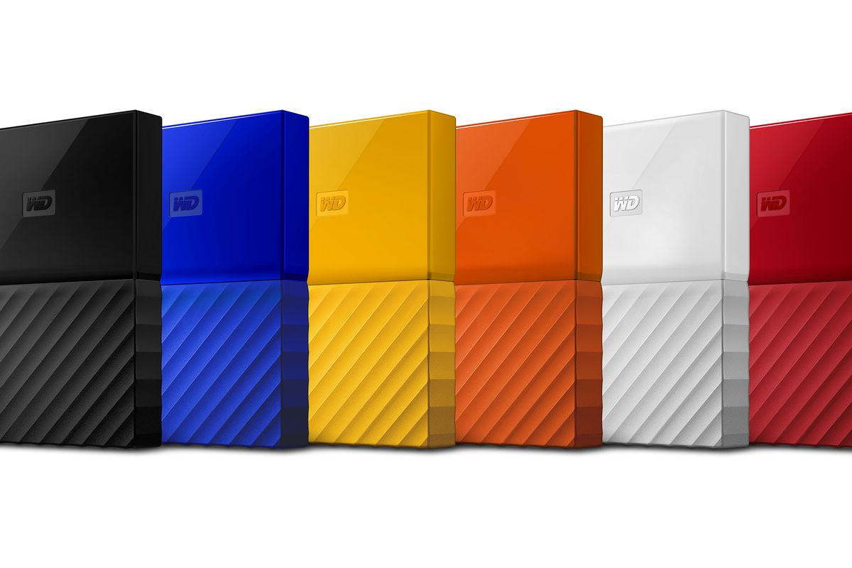 Western Digitals Hard Drives Have An All New Look And Can