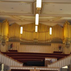 The Logan Tabernacle was dedicated in 1891. The tabernacle features noon concerts during the weekdays in the summer.
