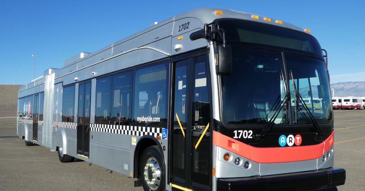 Albuquerque S New All Electric Bus Rapid Transit System