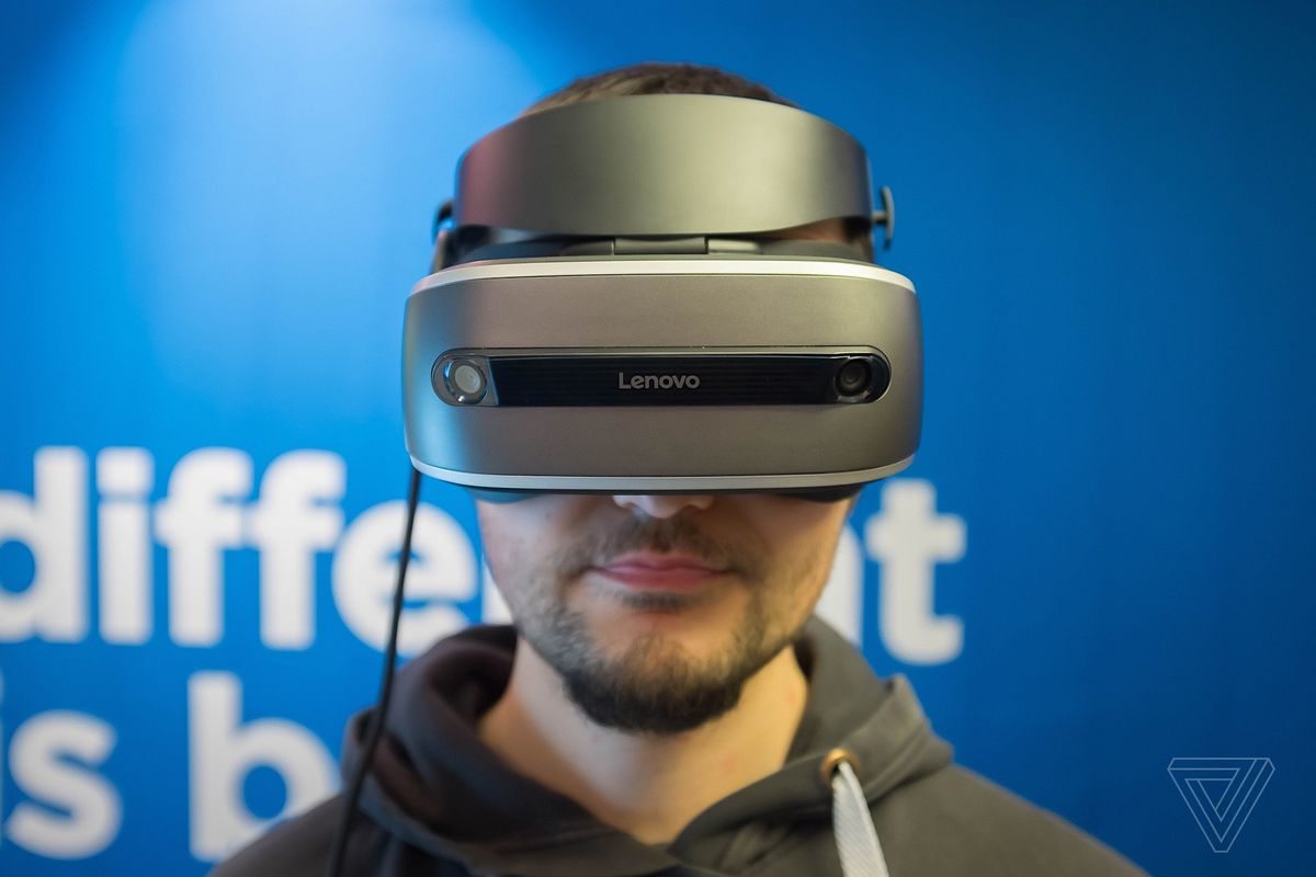 1fac9b440d3 This is Lenovo s Windows Holographic VR headset - The Verge