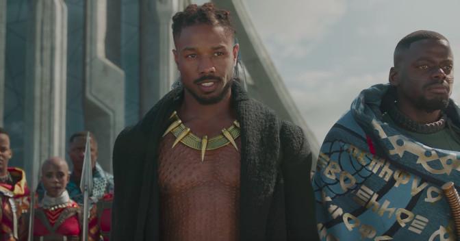 Black Panther Trailer Gives Michael B Jordan S Villainous