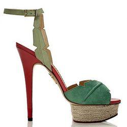 Isla Platform Sandal: $1,075