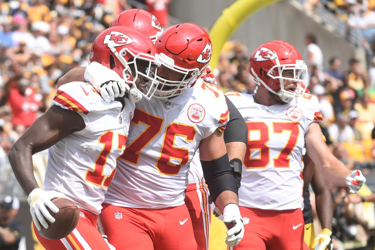 Two updates of note came out of Chiefs practice availability Thursday d94aa7a29