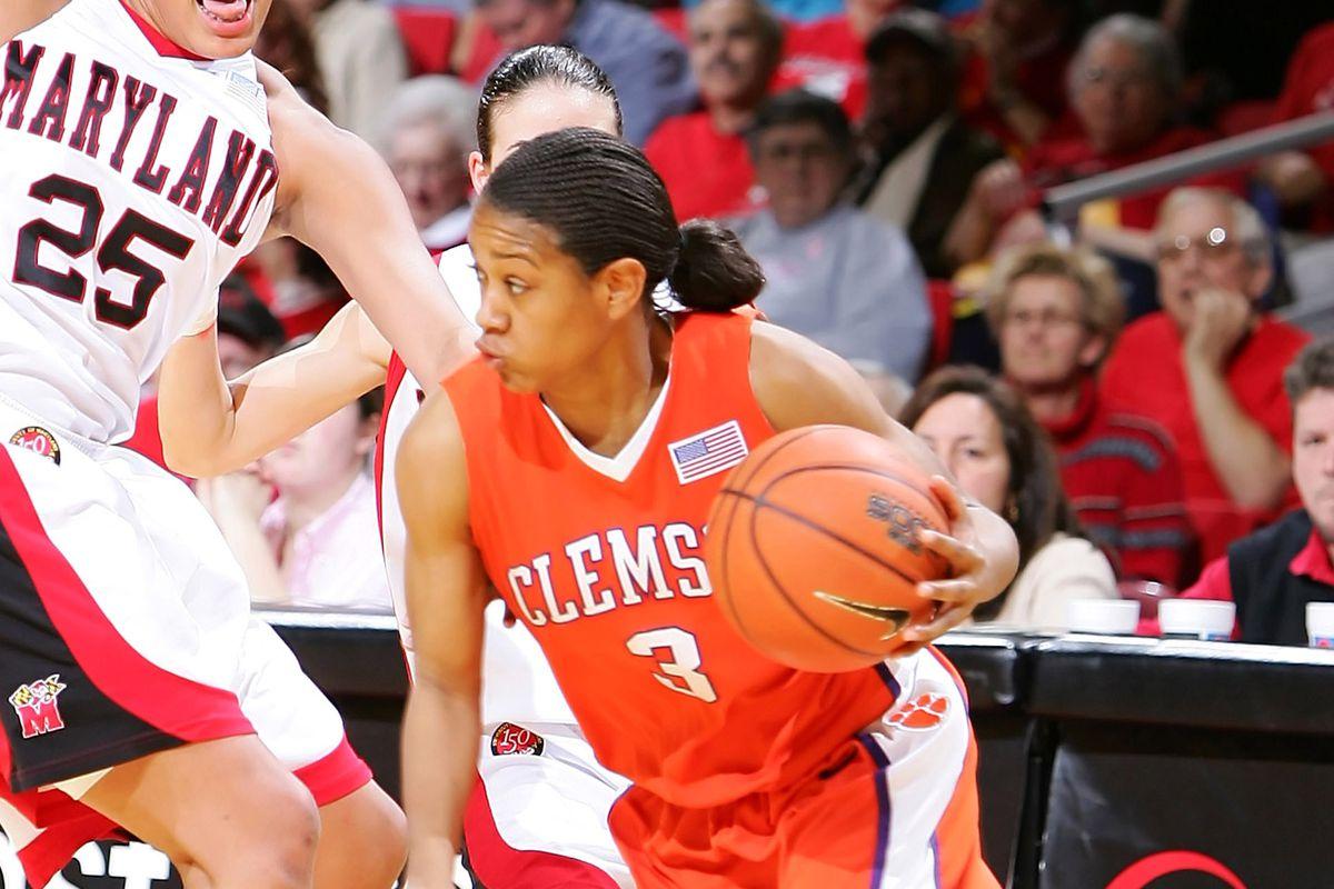 NCAA Women's Basketball - Clemson vs Maryland - February 23, 2006