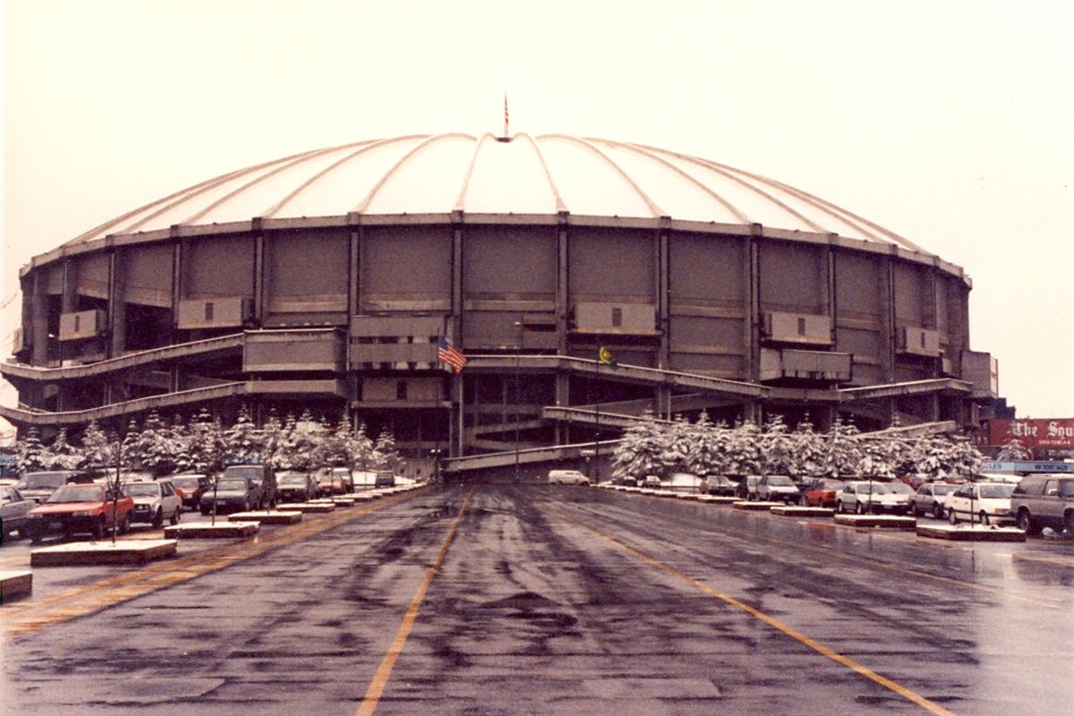 It was never much to look at, but in times of severe weather the Kingdome proved a haven.