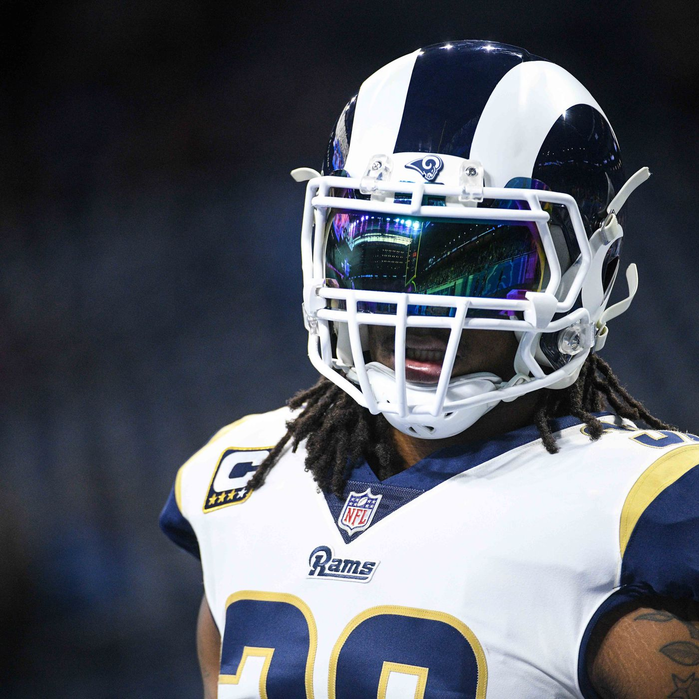 Los Angeles Rams vs. Dallas Cowboys divisional playoffs  RB Todd Gurley  limited for second day in a row 8b978db55