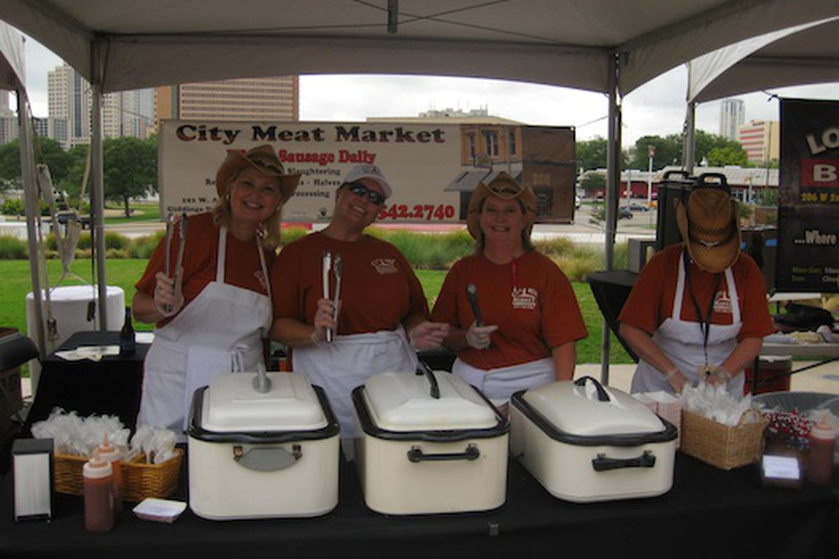 The ladies of City Meat Market at last year's festival.