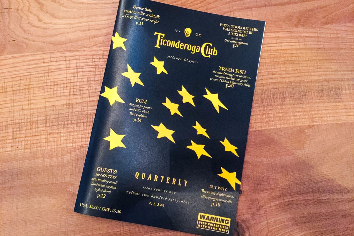 The Ticonderoga Club quarterly.
