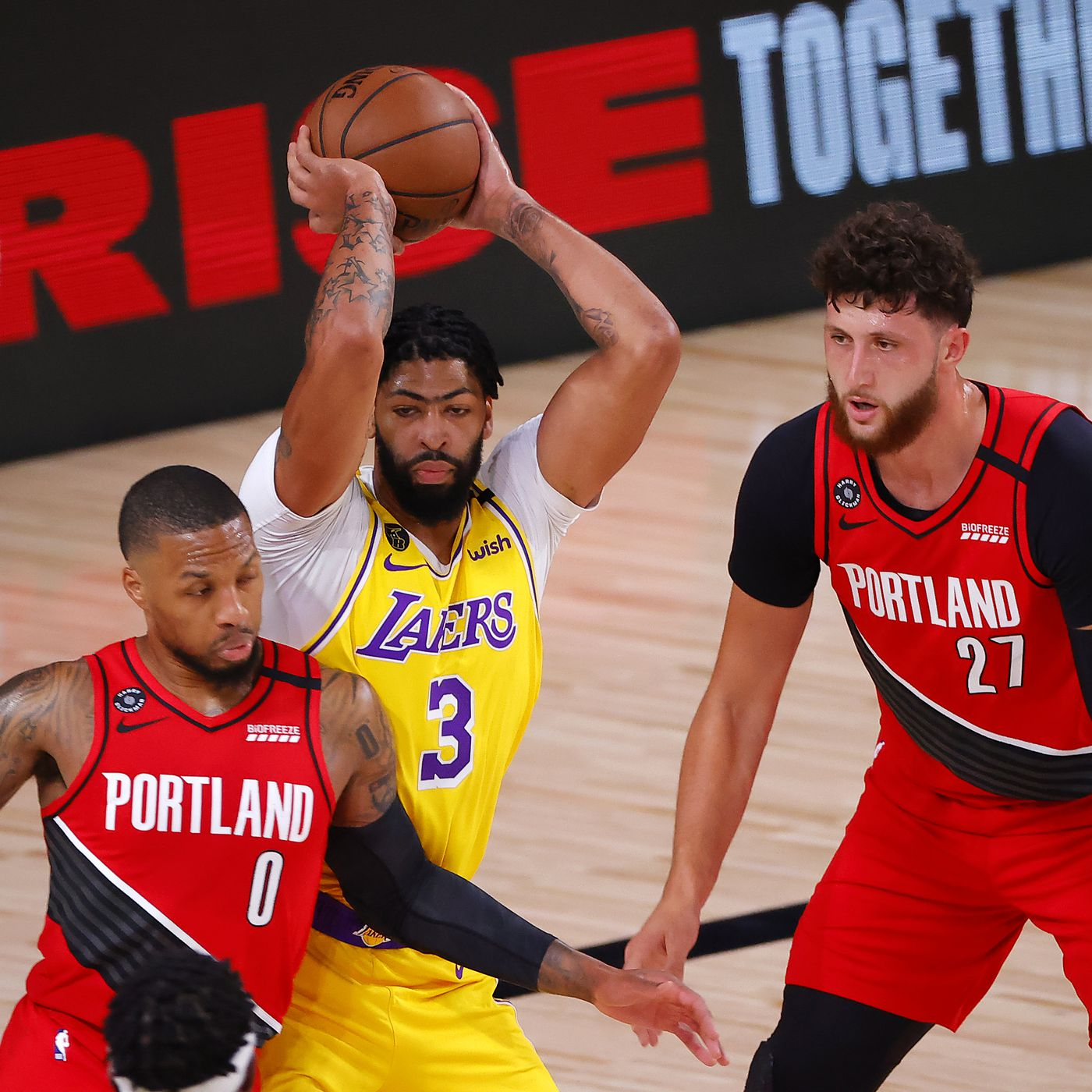 Portland Trail Blazers vs. Los Angeles Lakers Game 3 Preview ...