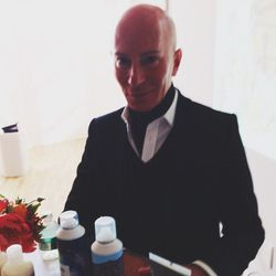 """Thursday beings with a preview of a new hair care line, <b><a href=""""http://www.randco.com/"""">R+Co</a></b>. I ran into hair guru <a href=""""http://www.garrennewyork.com/"""">Garren</a> and I have to admit, I had a little beauty editor star-struckness!"""