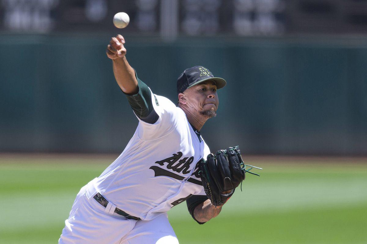 MLB: Arizona Diamondbacks at Oakland Athletics