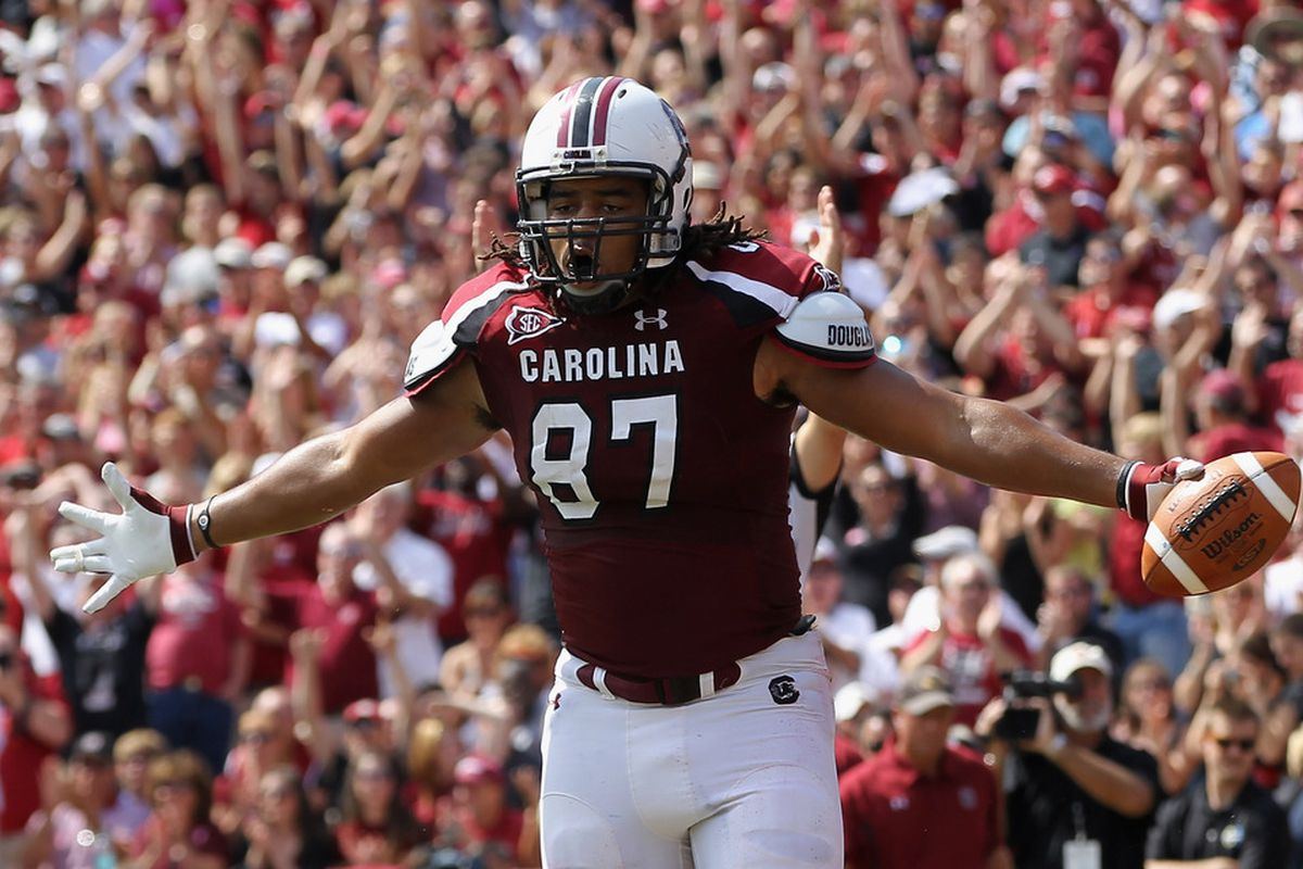 <em>Justice Cunningham:  Big things expected from the big TE's</em>