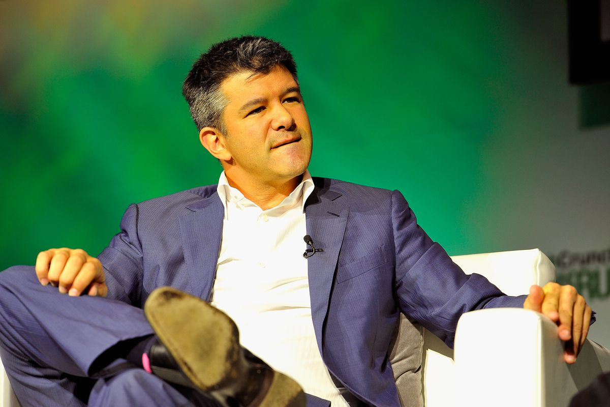 Can someone get Travis Kalanick a chill pill?        Steve Jennings  Getty Images for TechCrunch