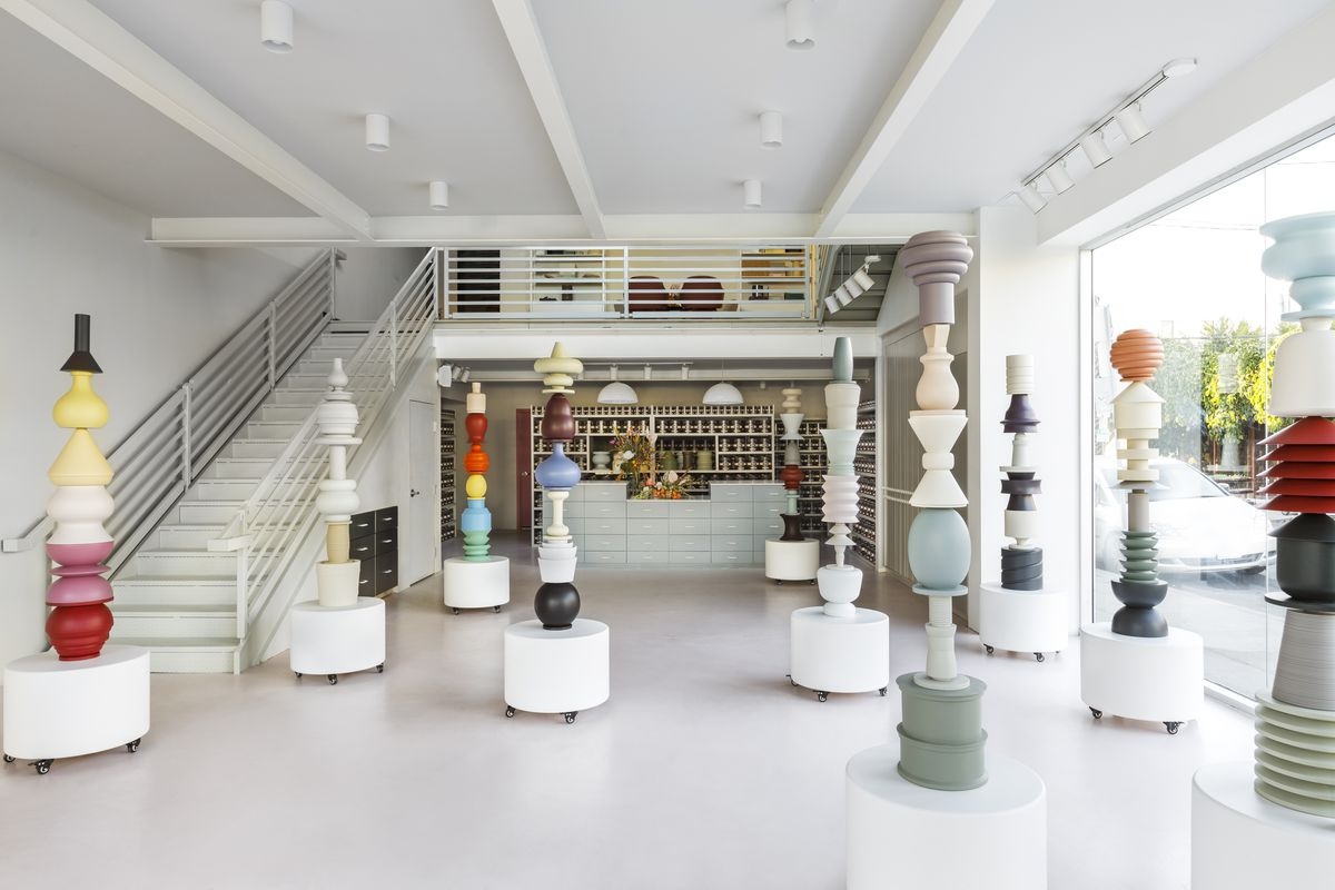 Farrow Ball S New Showroom In La The Company Second City Wants To Change How People Think Of Paint Laure Joliet