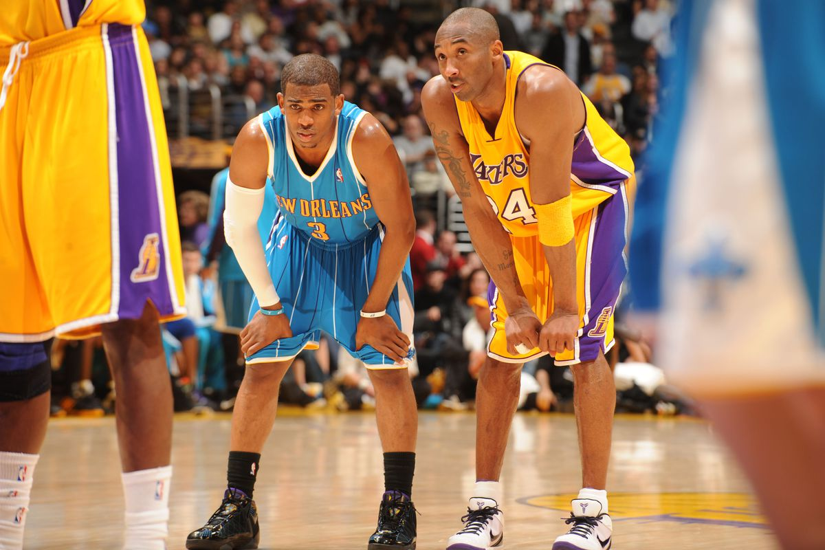 Chris Paul says he was angry when Lakers trade was vetoed because he had  already talked to Kobe Bryant - Silver Screen and Roll