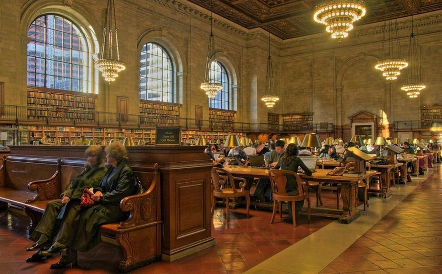 New York Public Library Fifth Avenue At 42nd Street NY Book It Here