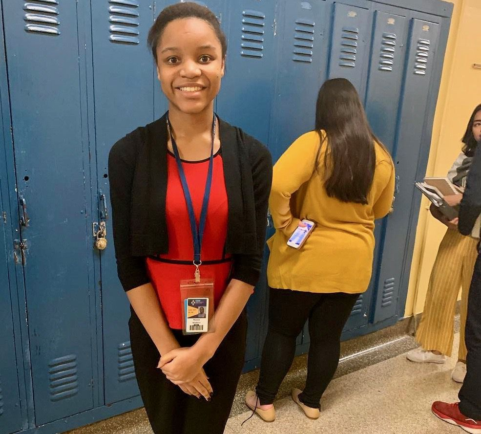 Myasia Madkins, a 17-year-old junior who attends Holy Trinity High School through the Partnership to Educate and Advance Kids, a four-year tuition and mentoring program, has worked hard to improve her grades, despite remote learning, and to make sense of the racial turmoil triggered by the death of George Floyd last year.