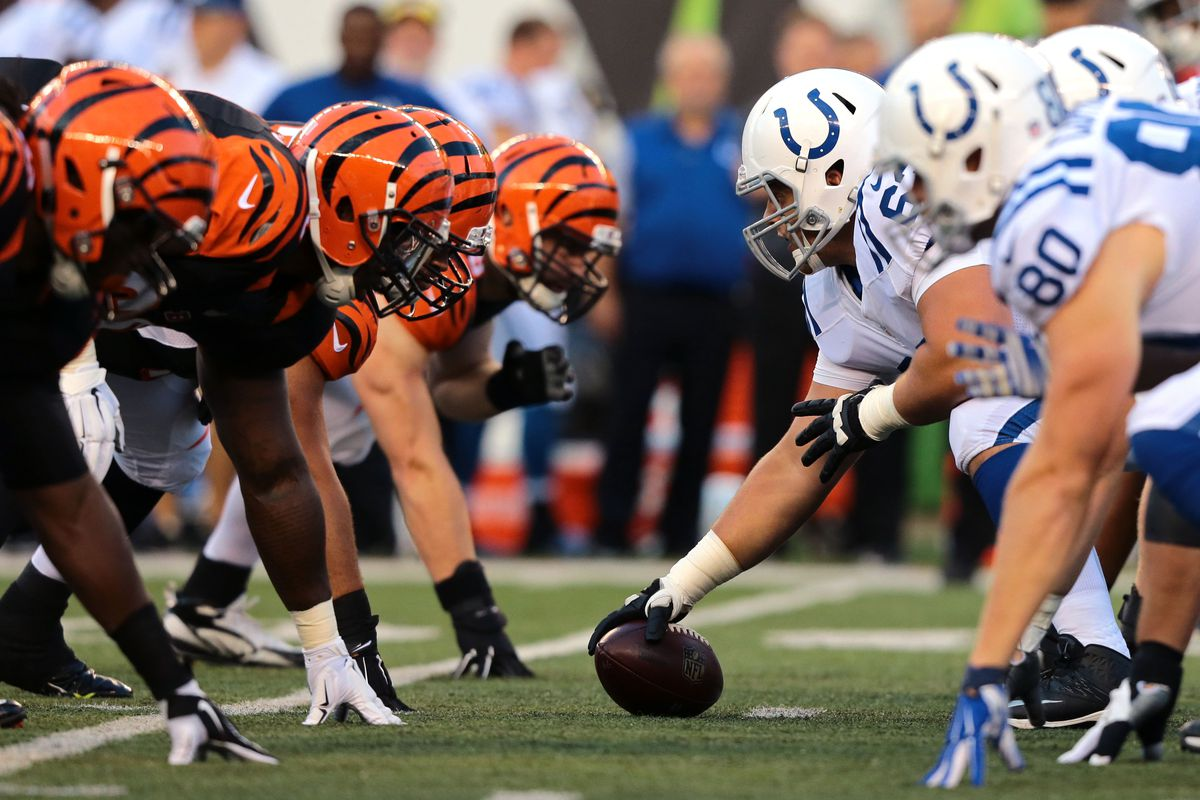 Image result for colts v bengals