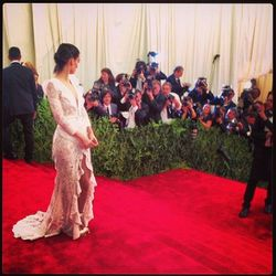 """<a href=""""http://instagram.com/p/Y_JeBymPvY/"""">Another one</a> of Rooney Mara in Givenchy."""