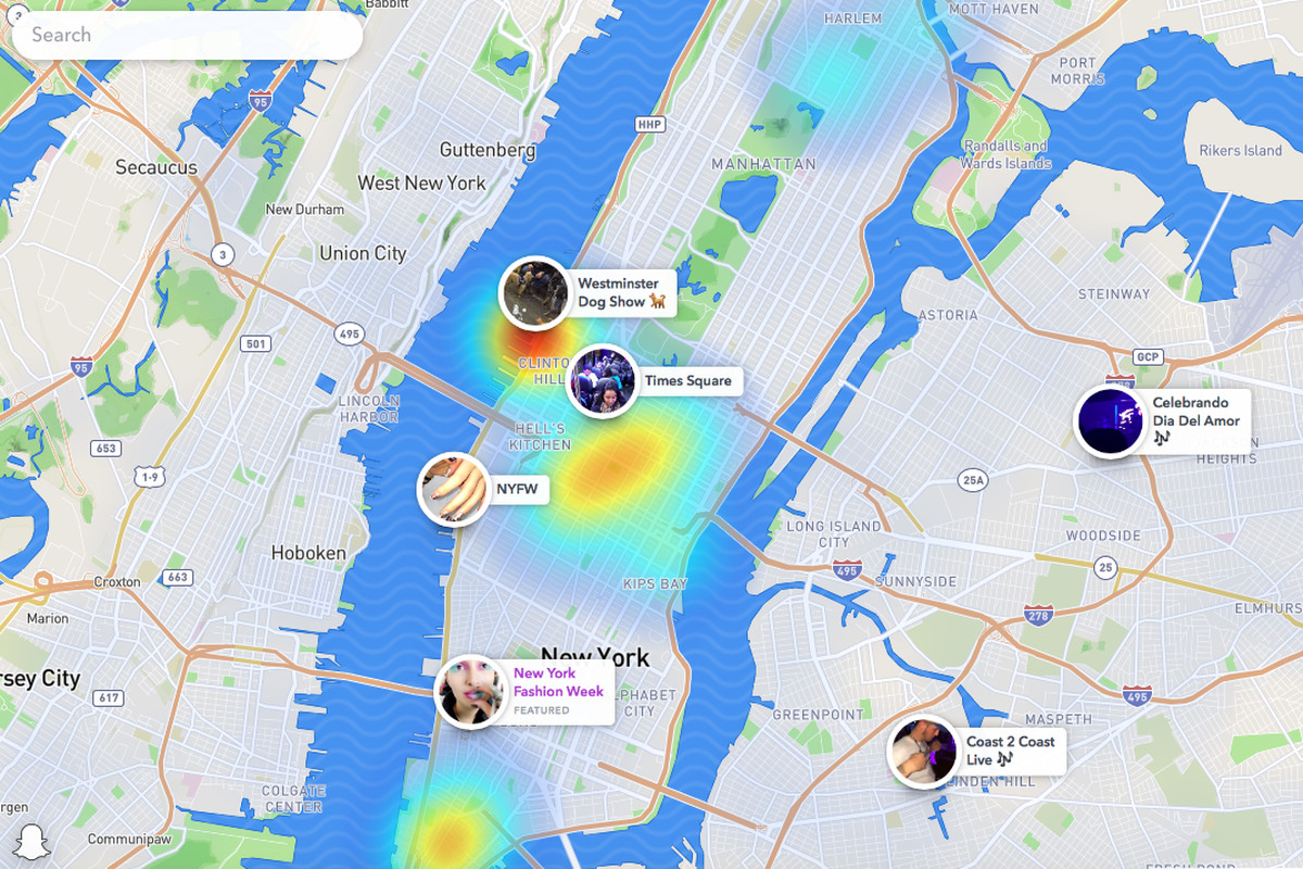Snap Maps on the web