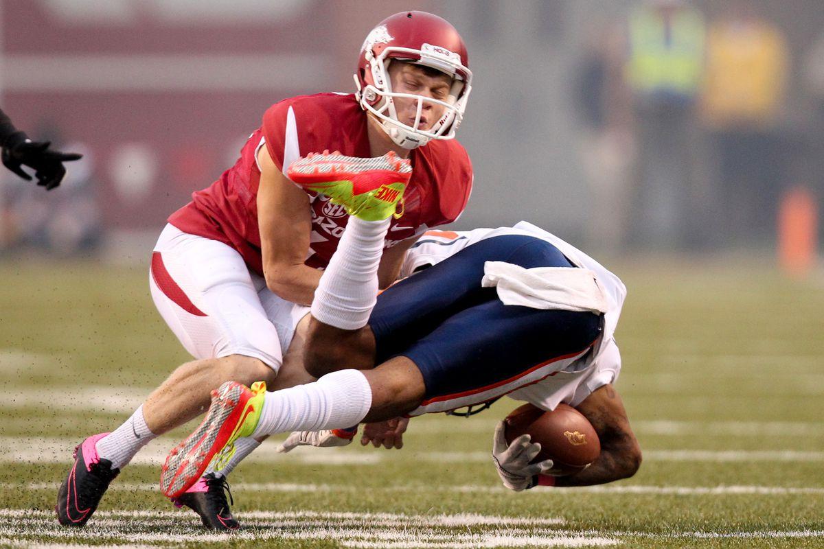 NCAA Football: Tennessee-Martin at Arkansas