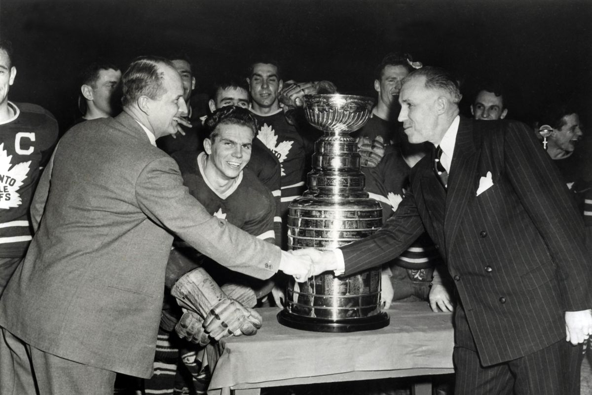 1949 Stanley Cup Finals - Game 4: Detroit Red Wings v Toronto Maple Leafs