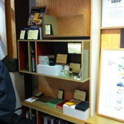 The Monocle Shop corner
