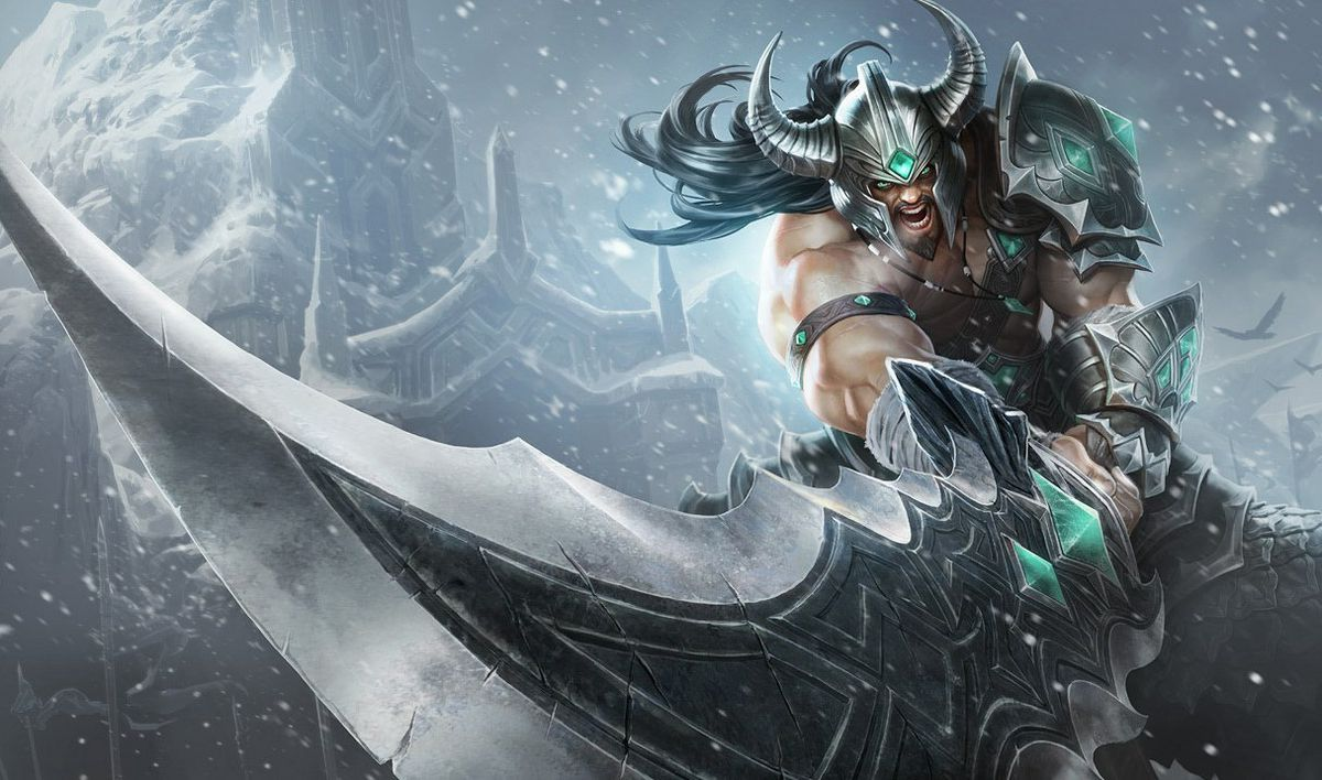 Tryndamere, the namesake champion of co-founder Marc Merrill.