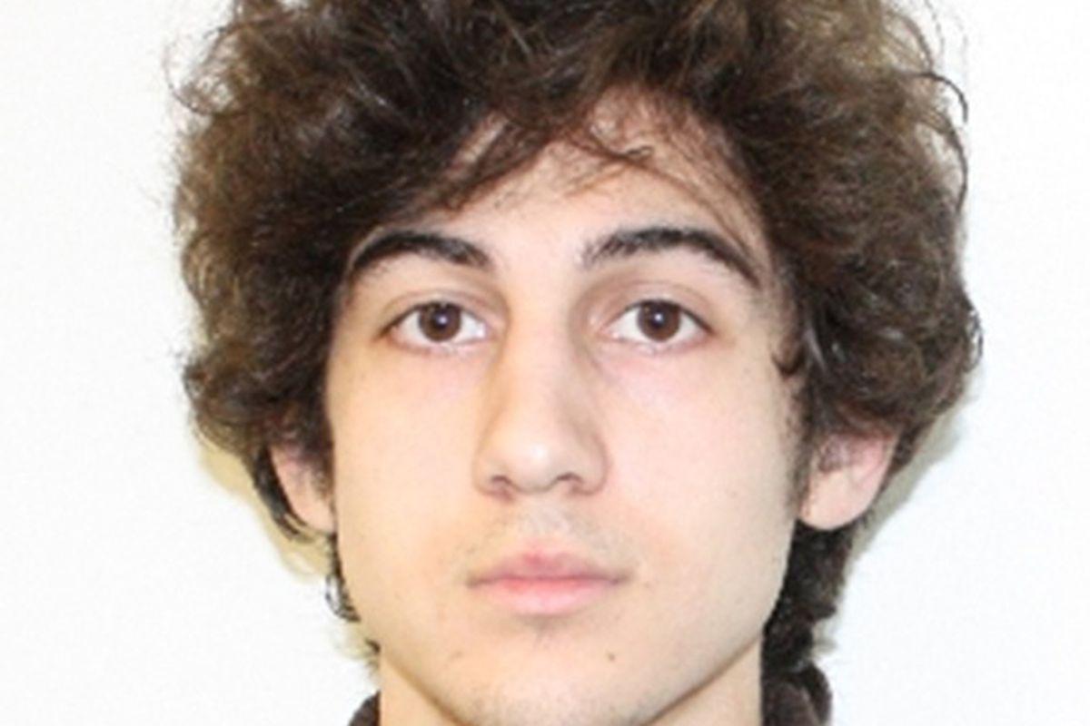 Dzhokhar Tsarnaev cropped FBI mugshot