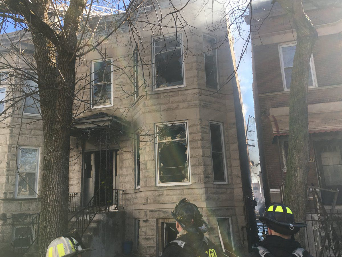 A Chicago firefighter was critically injured while fighting an extra-alarm fire March 3 in the 1900 block of South St. Louis. | Fire Media Affairs