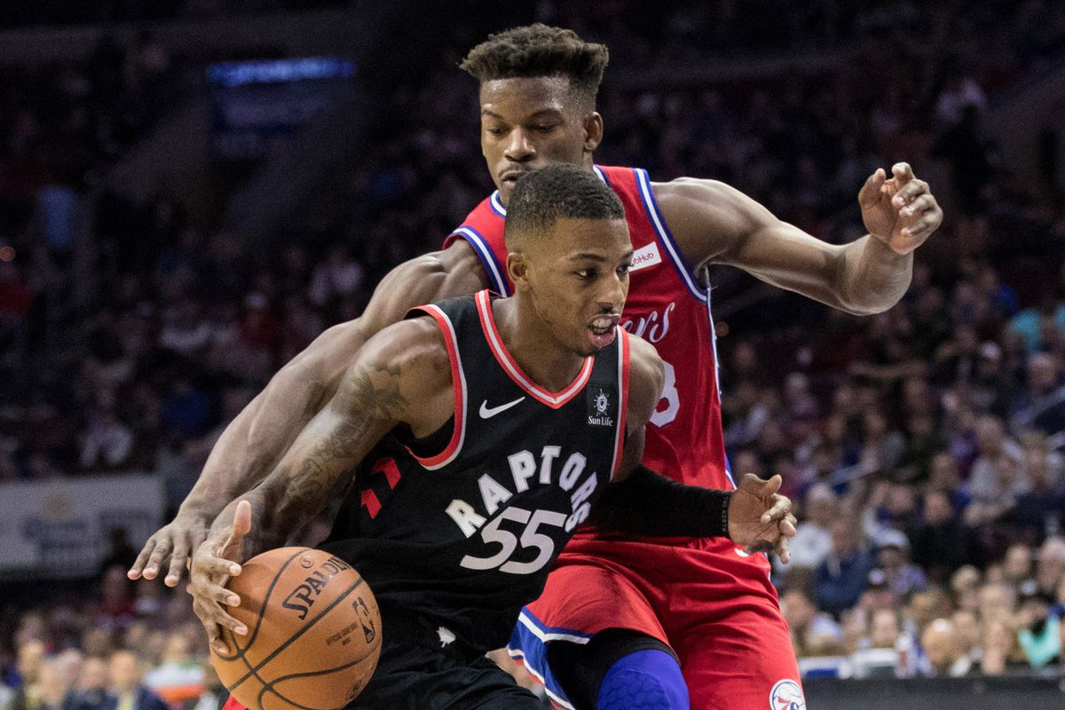 Five thoughts recap: Toronto Raptors 119, Philadelphia 76ers 107, Delon Wright, Jimmy Butler