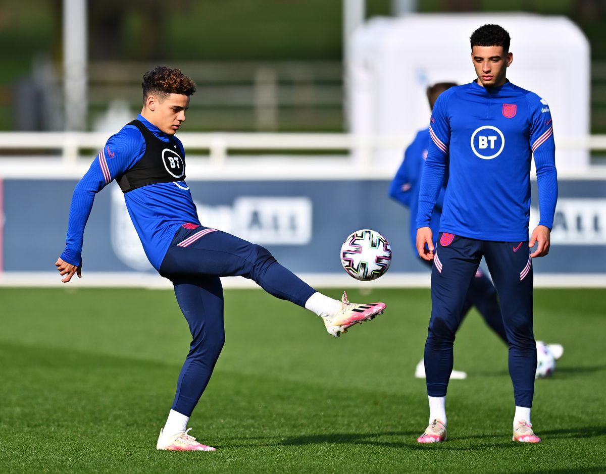 England U21 Training Session