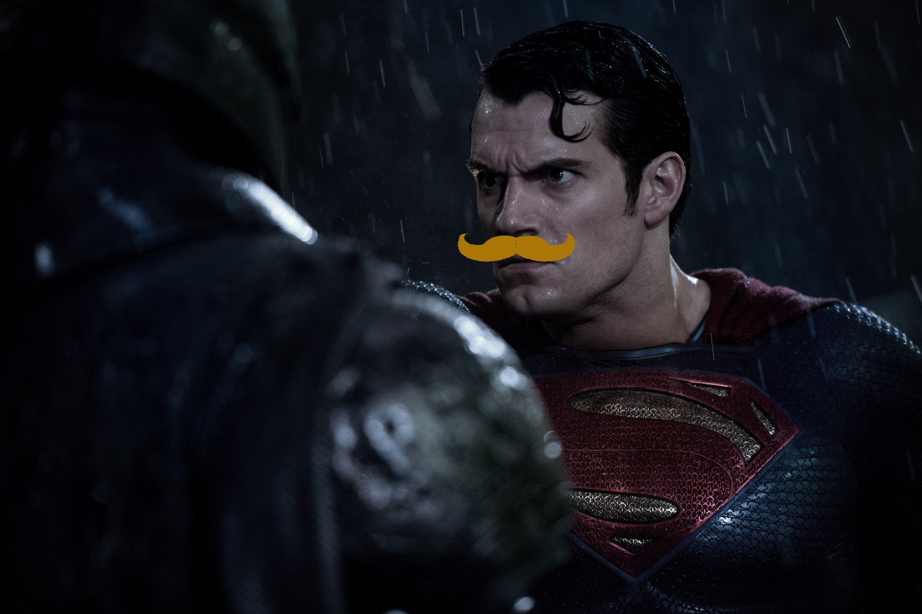 Superman's mustache will be digitally removed as Justice League faces extended reshoots