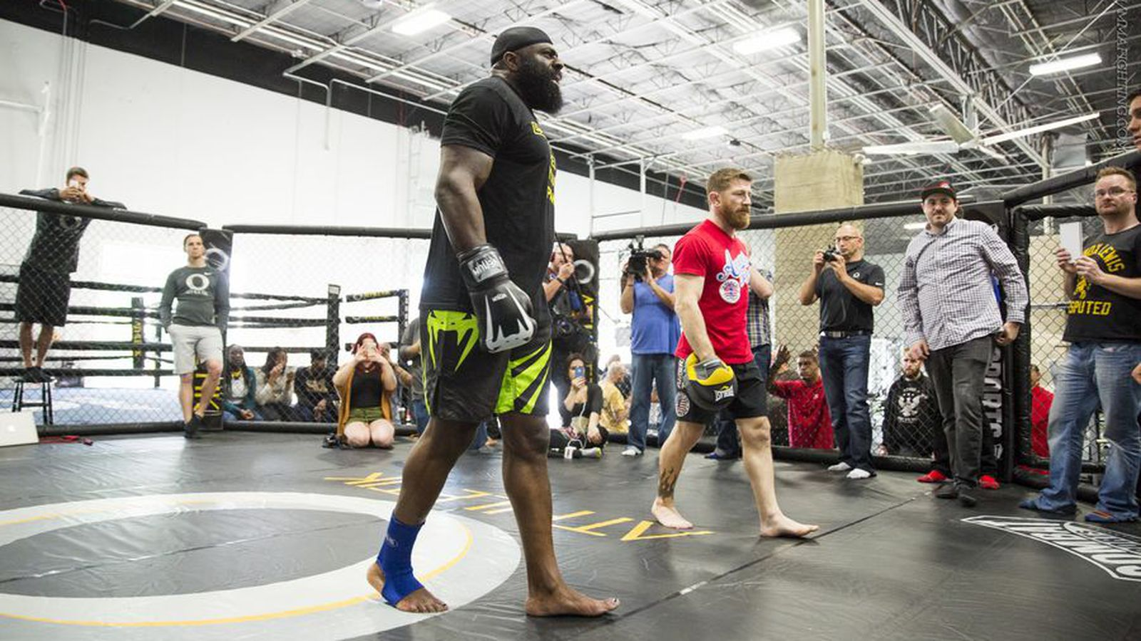 mike brown discusses kimbo slice u0027s bout with pneumonia their