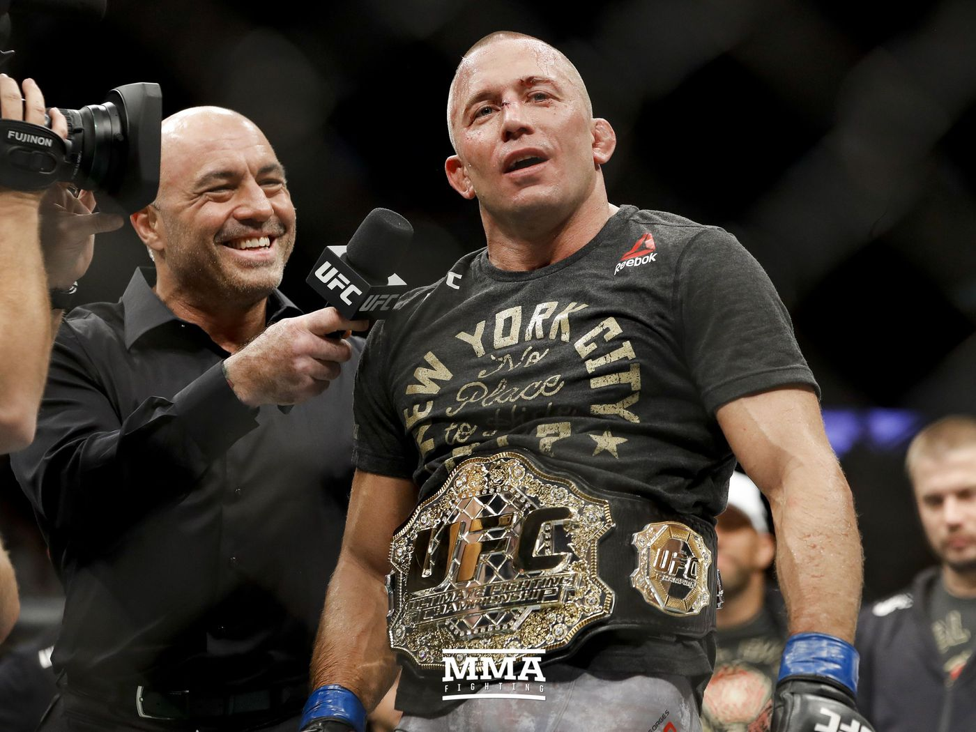 Georges St Pierre Very Happy For Kamaru Usman But Returning For That Fight Doesn T Get Me Motivated Mma Fighting