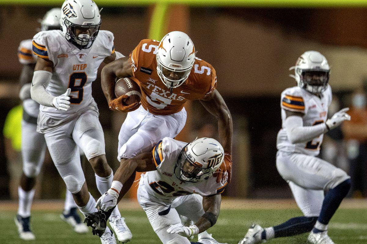 NCAA Football: Texas El Paso at Texas