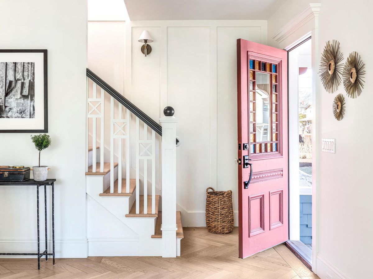 Summer 2021, Narragansett TV project, interior entryway