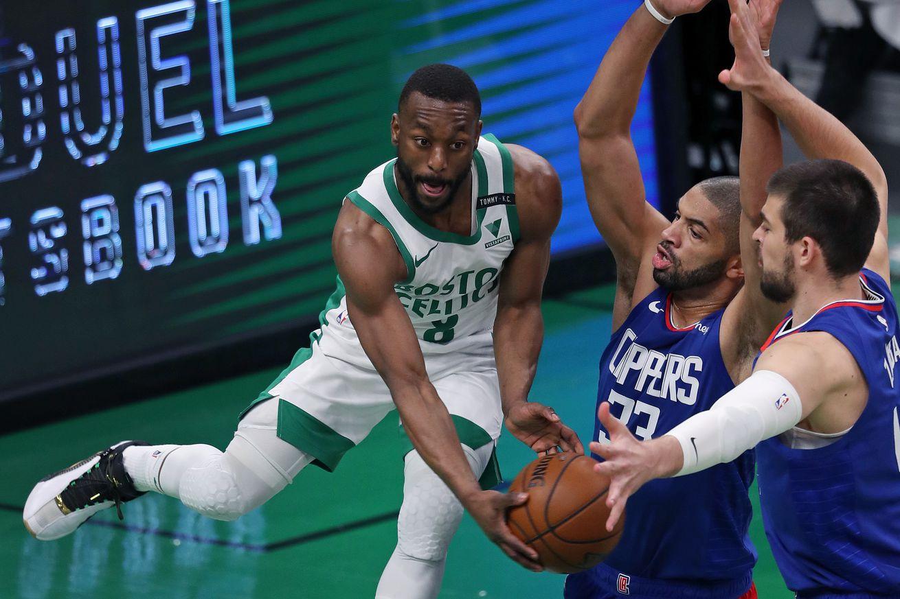 Los Angeles Clippers Vs Boston Celtics at TD Garden