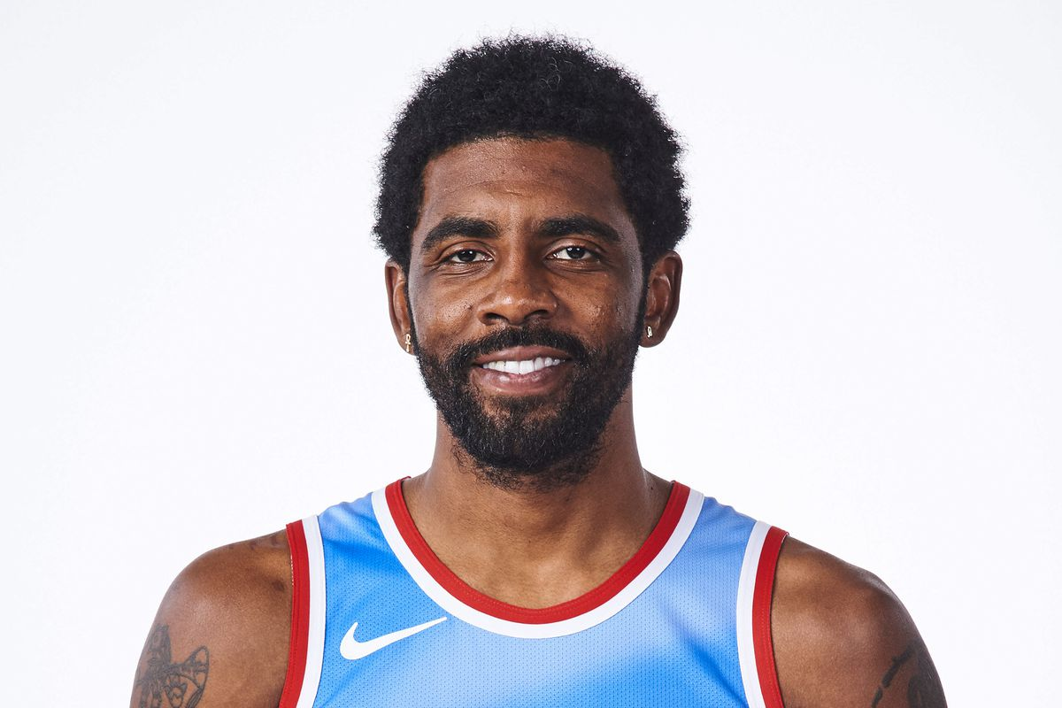 Kyire Irving New Jersey Nets Jersey Unveiling