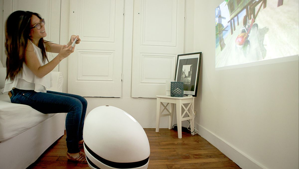 This rolling robot wants to replace your TV, stereo system ...