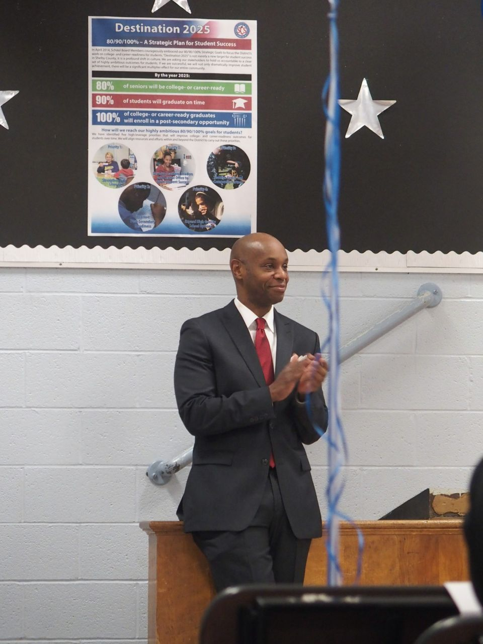 Shelby County Schools Superintendent Dorsey Hopson