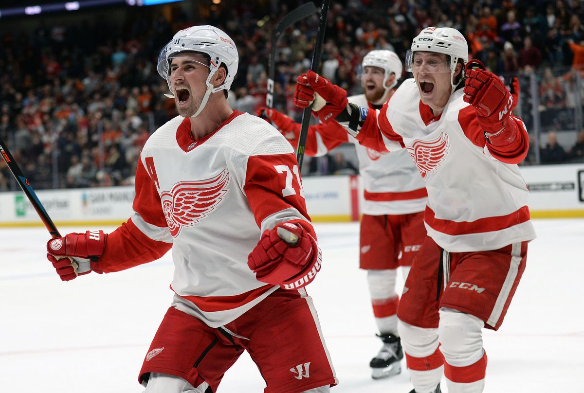 NHL: Detroit Red Wings at Anaheim Ducks