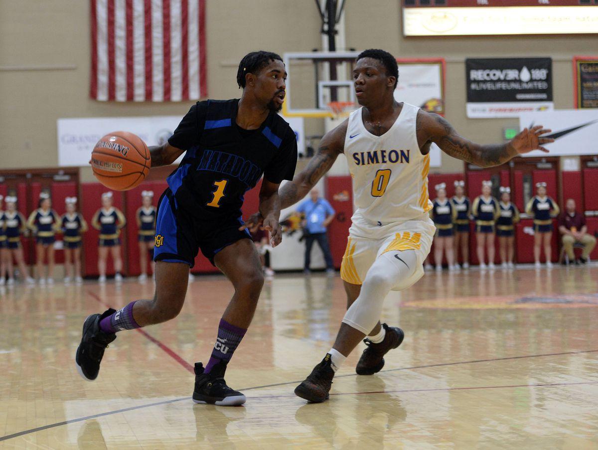 High School Basketball: Hoophall West Tournament-Shadow Mountain vs Chicago Simeon