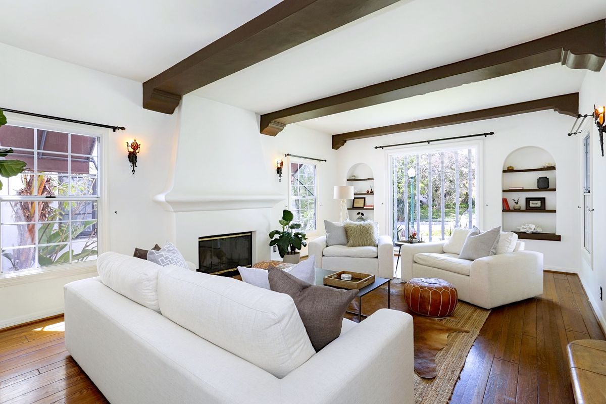 livingroom in spanish glendale spanish style with vintage tile bathrooms asks 1 3m curbed la 1557